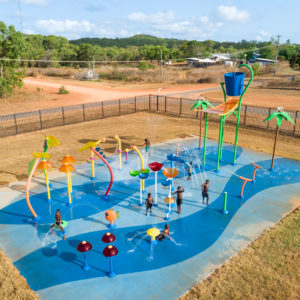LRASC - Waterpark with after school care kids Drone - Web Res-0345